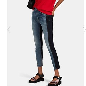 NWT Current Elliott The Mashed Stiletto Jeans 29